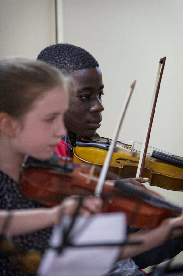 Tallaght Strings:  New violin project for primary school children