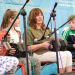 Music Generation South Dublin performing at Ruaille Buaille - Childrens Music Festival, Lucan  2016