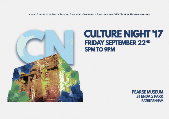 Culture Night -  Friday 22nd September 2017, 5pm – 9pm