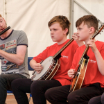 Music Generation Creative Tent  - Ruaille Buaille Children's Music Festival Lucan 2018